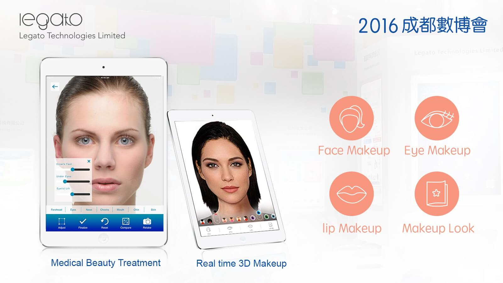 Cosmetic & Beauty AR Solution