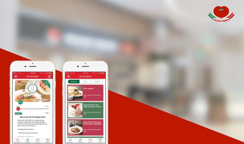 Italian Tomato Membership App